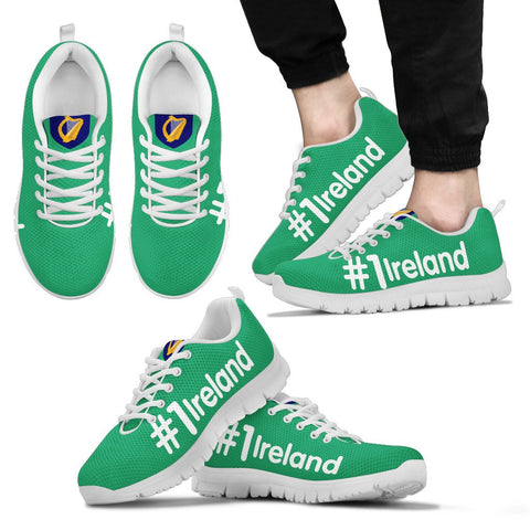 Image of Ireland shoes - Hashtag Ireland men's/women's sneakers
