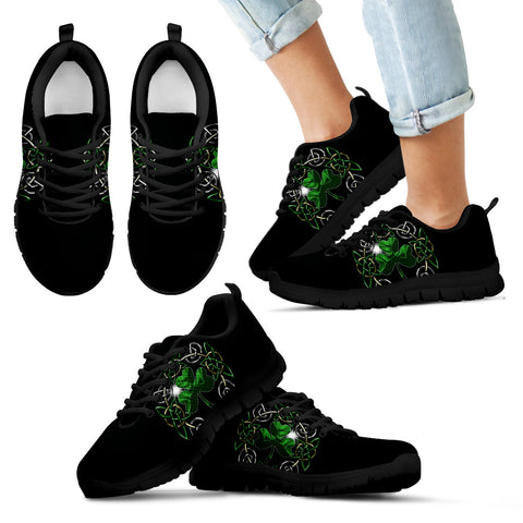 Mystery Celtic Shamrock Sneakers
