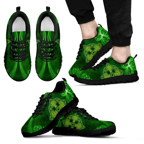 Image of Celtic Shamrock (Men's / Women's) Sneaker Ver.2 | 1stireland.com
