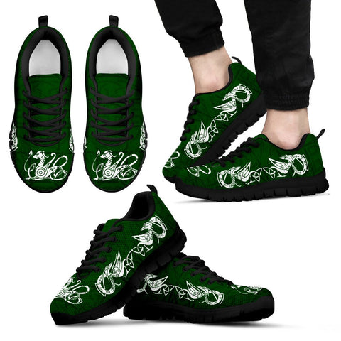 Animalistic Celtic Knot Sneakers