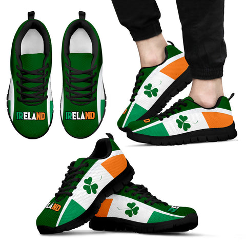 Ireland Sneakers Shamrock Flag | 1stireland.com