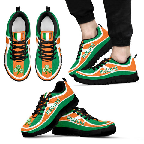 Ireland Flag Color Sneakers | 1stireland.com