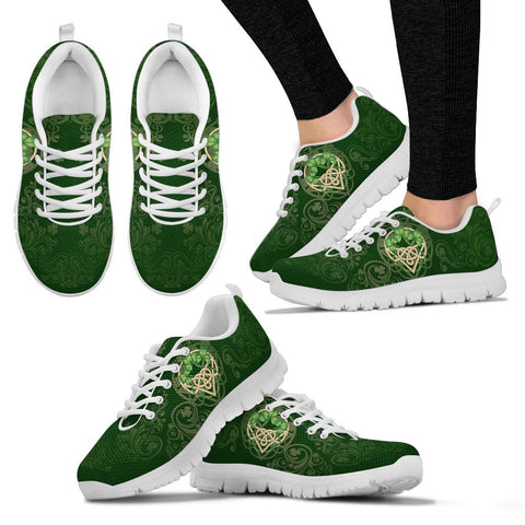 Image of Ireland Sneakers - Irish Shamrock - Ireland Celtic - Men - Women Sneakers