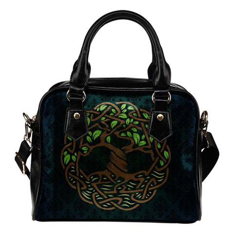 Celtic Tree Of Life Shoulder Handbag NN8