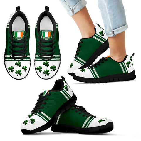 Image of Ireland Sneaker Shamrock Sport Black