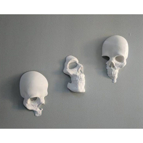 3pcs/set Broken Skull Wall Decoration - New Style