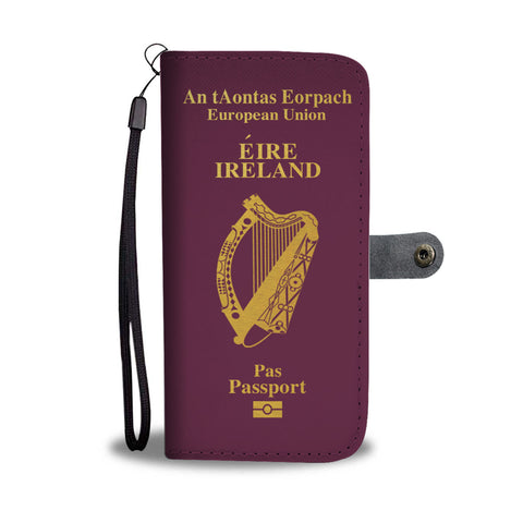 Ireland Passport Wallet Phone Case | 1stireland.com