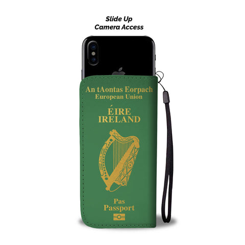 Ireland Passport Wallet Phone Case