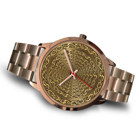 Image of Celtic Golden Time Pathway Rose Gold Watch