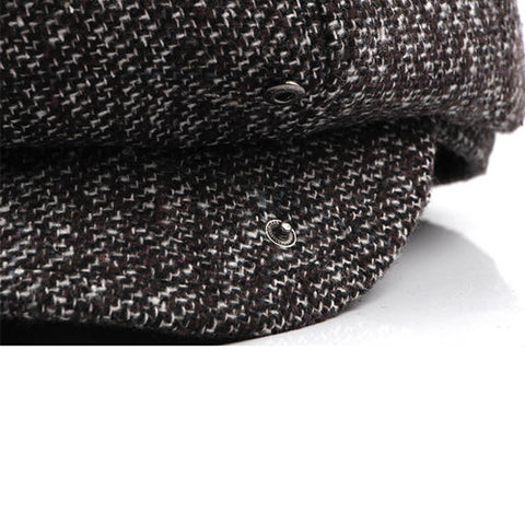 High Quality Wool Irish Cabbie Hat -Special Edition