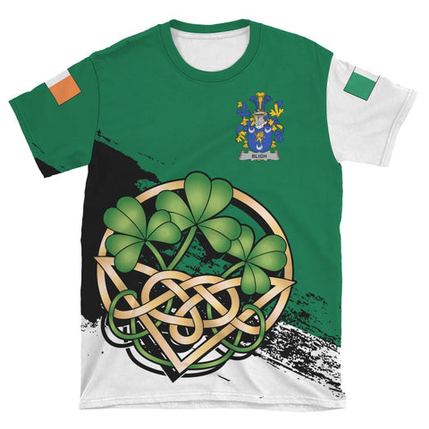 Image of Bligh Ireland T-shirt Shamrock Celtic | Unisex Clothing