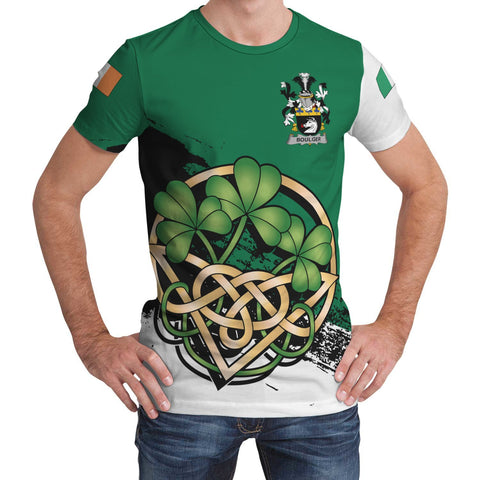 Boulger or O'Bolger Ireland T-shirt Shamrock Celtic | Unisex Clothing