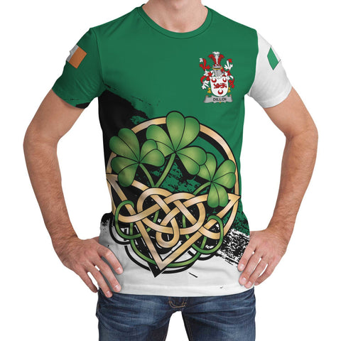 Image of Dillon Ireland T-shirt Shamrock Celtic | Unisex Clothing