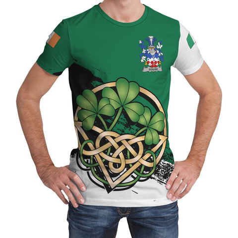 Image of Douse or Dowse Ireland T-shirt Shamrock Celtic | Unisex Clothing