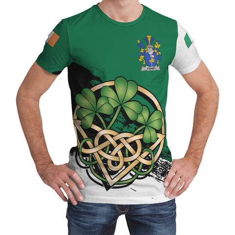 Fahey or O'Fahy Ireland T-shirt Shamrock Celtic | Unisex Clothing