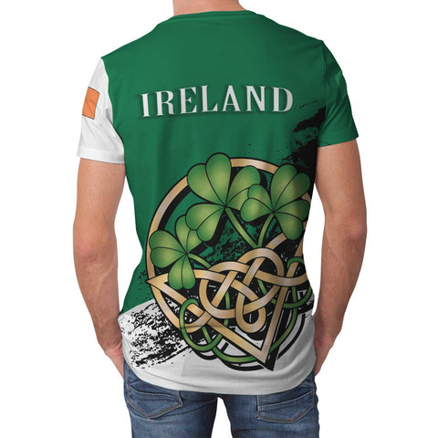 Image of Gaine or Gainey Ireland T-shirt Shamrock Celtic | Unisex Clothing