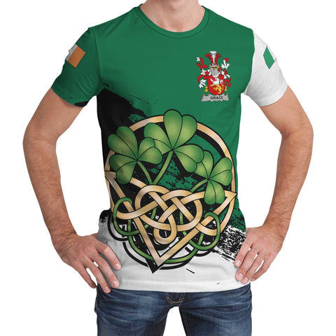 Grace Ireland T-shirt Shamrock Celtic | Unisex Clothing