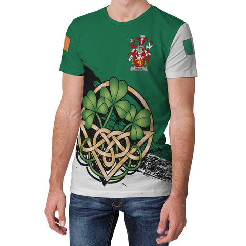 Image of Grace Ireland T-shirt Shamrock Celtic | Unisex Clothing