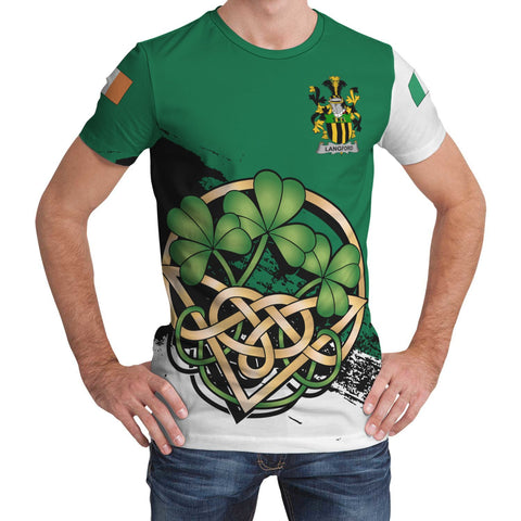 Langford Ireland T-shirt Shamrock Celtic | Unisex Clothing