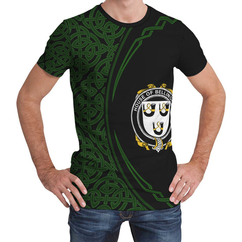 Image of Bellingham Family Crest Unisex T-shirt