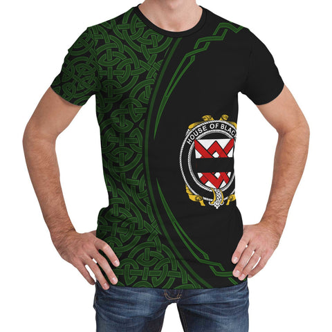 Image of Blacke Family Crest Unisex T-shirt