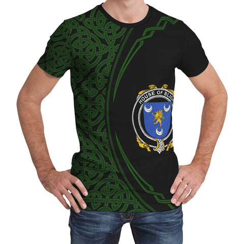 Image of Bligh Family Crest Unisex T-shirt