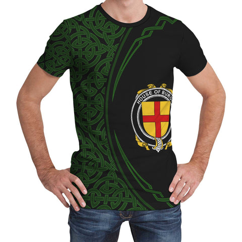 Image of Burgh Family Crest Unisex T-shirt