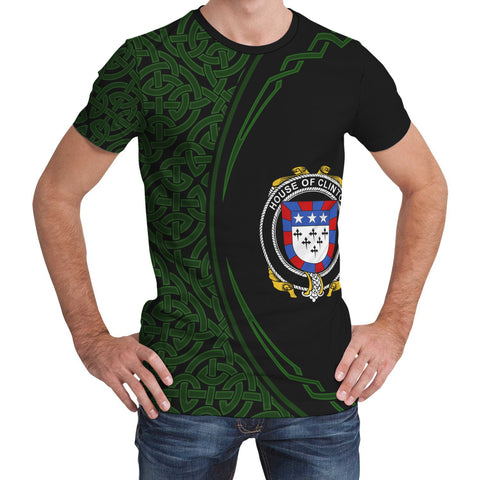 Image of Clinton Family Crest Unisex T-shirt