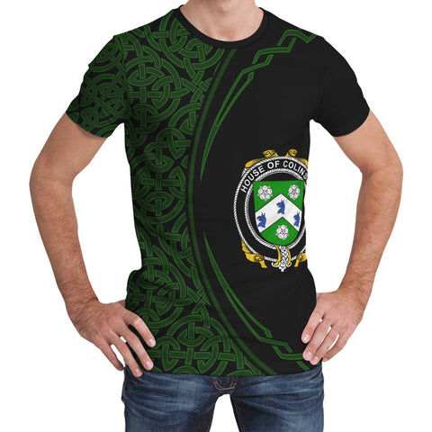 Image of Colinson Family Crest Unisex T-shirt