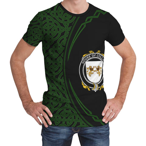 Image of Collins Family Crest Unisex T-shirt