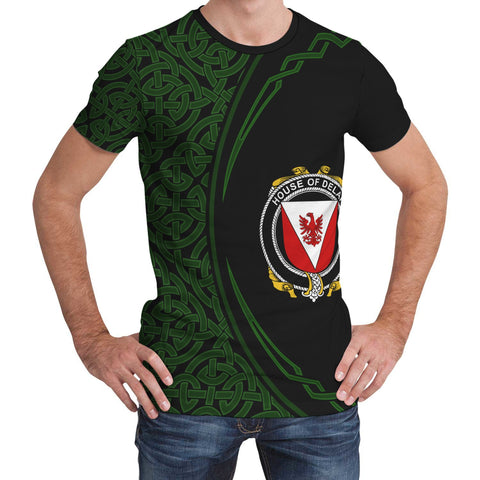 Image of Delap Family Crest Unisex T-shirt