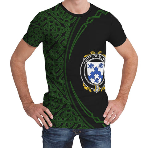 Image of Ellmer Family Crest Unisex T-shirt