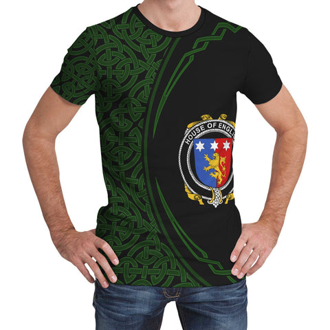 English Family Crest Unisex T-shirt