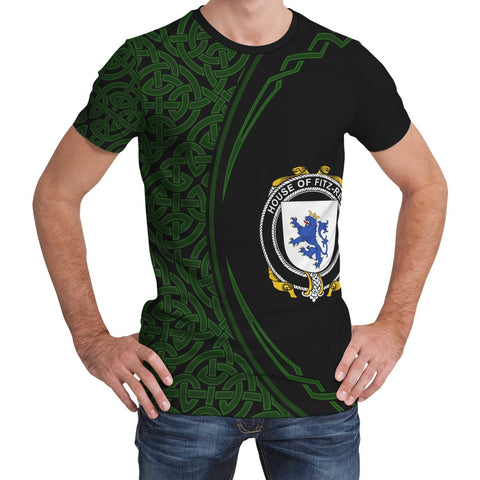 Image of Fitz-Rery Family Crest Unisex T-shirt