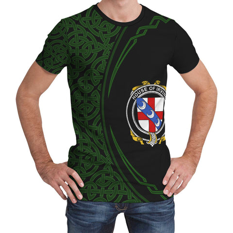 Image of Irvine Family Crest Unisex T-shirt