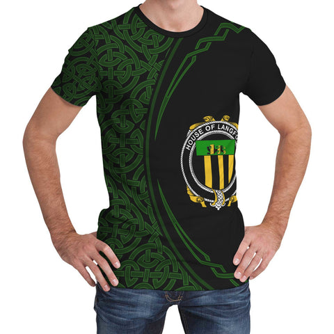 Image of Langford Family Crest Unisex T-shirt