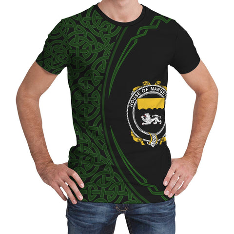 Image of Margetson Family Crest Unisex T-shirt
