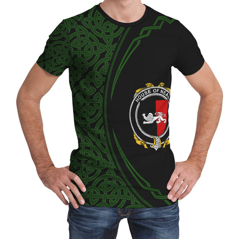 Image of Neale Family Crest Unisex T-shirt