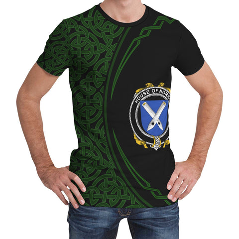 Image of Norris Family Crest Unisex T-shirt