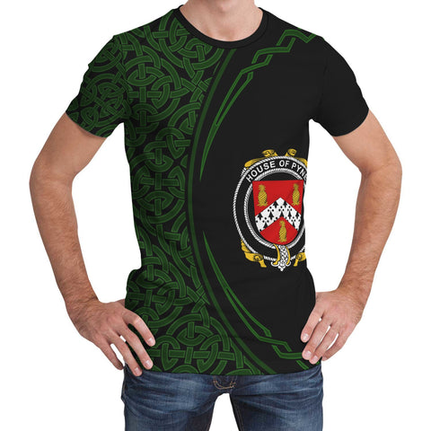 Image of Pyne Family Crest Unisex T-shirt