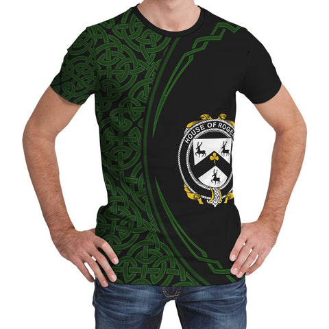 Image of Rogers Family Crest Unisex T-shirt