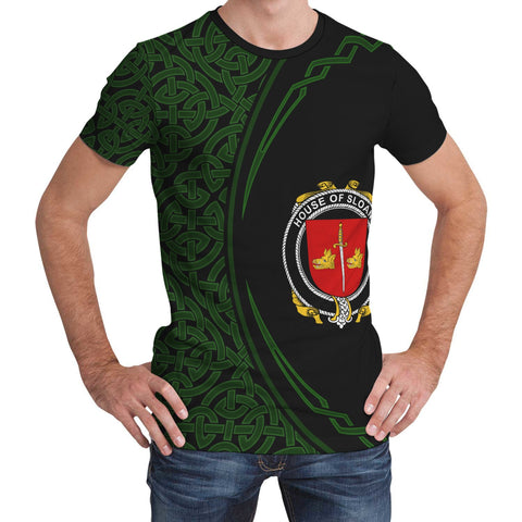 Image of Sloane Family Crest Unisex T-shirt