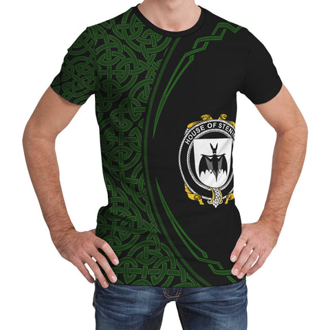 Image of Stening Family Crest Unisex T-shirt
