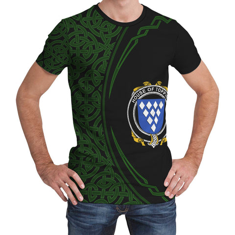Image of Topping Family Crest Unisex T-shirt