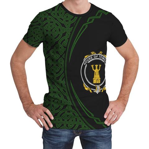 Towers Family Crest Unisex T-shirt