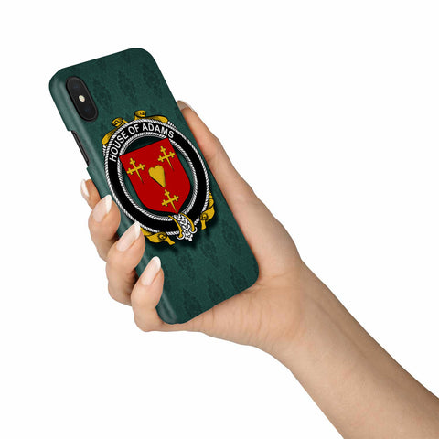 Adams Family Crest Phone Cases, Irish Coat Of Arms Slim Phone Cover