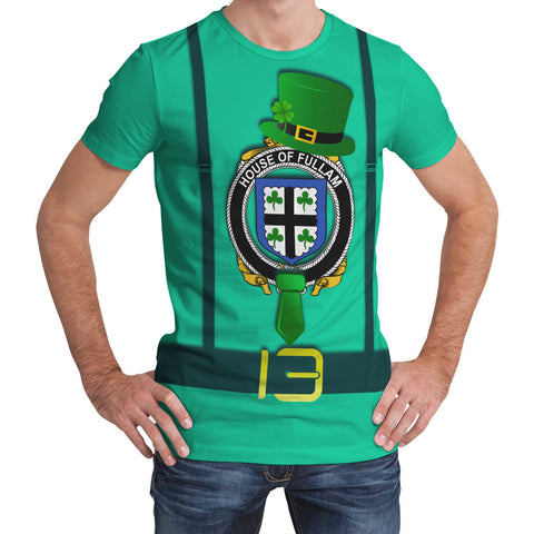 Irish Shirt, Fullam Family Crest Saint Patrick's Day T-Shirt