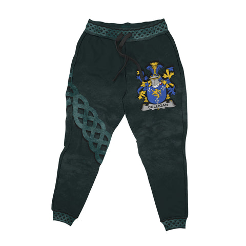 Image of Culligan or McColgan Family Crest Joggers