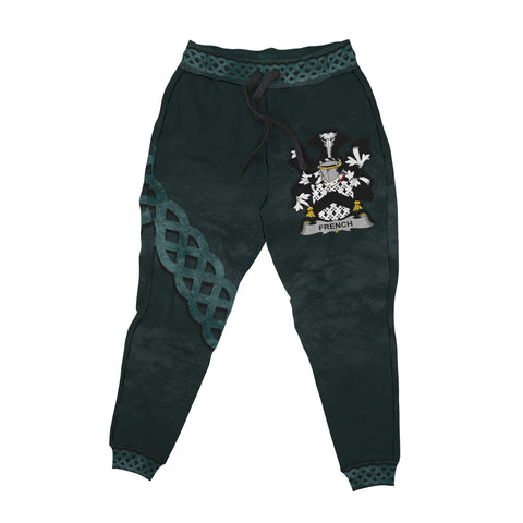 French Family Crest Joggers