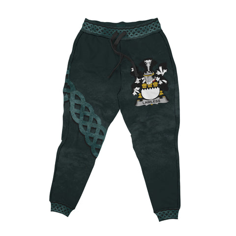 Lawless Family Crest Joggers